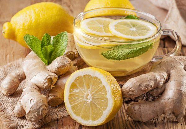 Звичайний, травяний і малиновий чай при застуді, грипі, ангіні